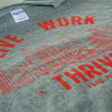 genKC t-shirt: live, work, thrive