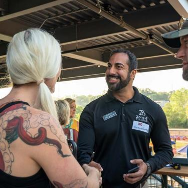 Business owners and patrons connecting at KC Chamber Event