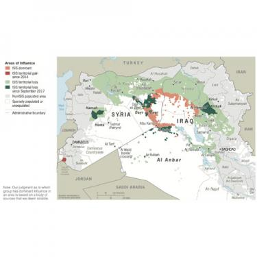 Business Intelligence Brief - ISIS Areas of Influence